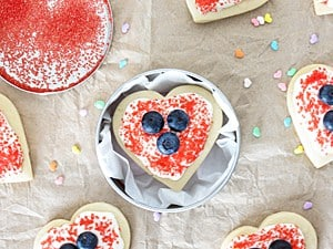 Valentine's Day Butter Cookies {Gift Idea}