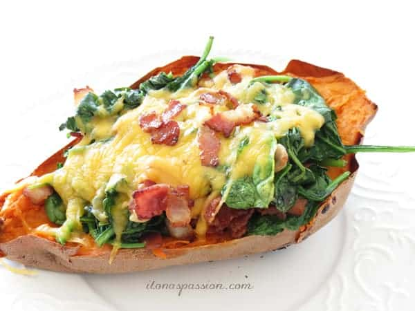 Loaded Sweet Potato & How my life changed in May by Ilona's Passion