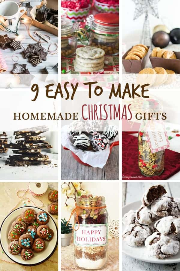 9 easy to make homemade christmas gifts ilona 39 s passion for Christmas cookies to make for gifts