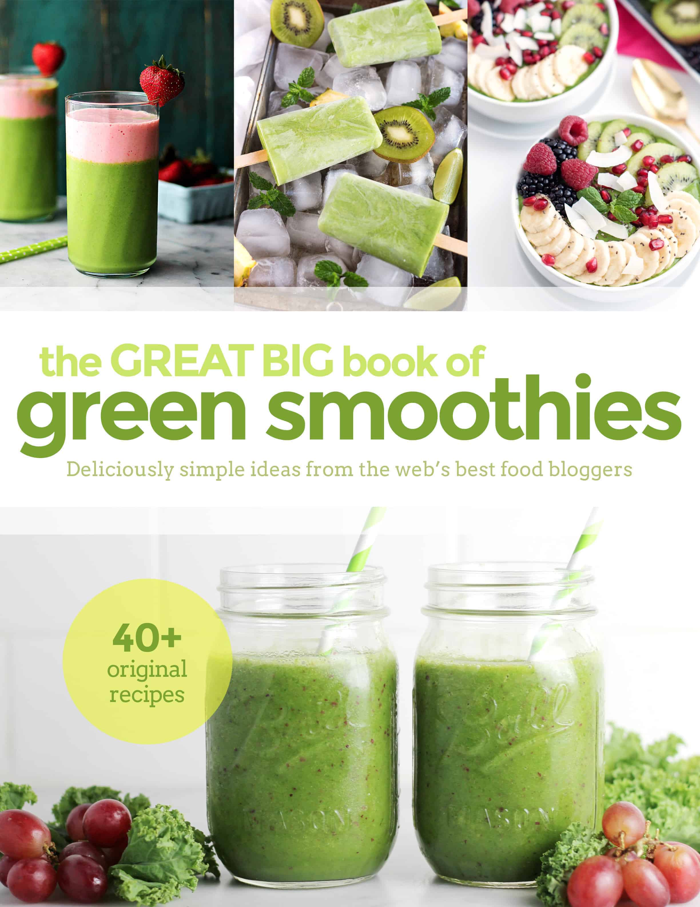 The Great Big Book of Green Smoothies with 45 green smoothie recipes by food bloggers on ilonaspassion.com I @ilonaspassion http://bit.ly/1n7xXhj