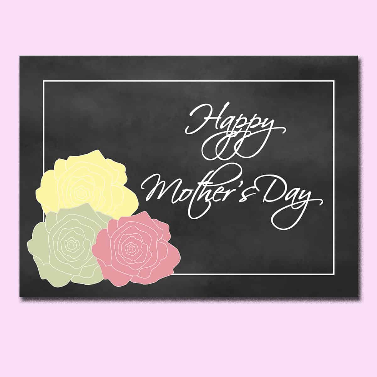 Free Printable Mother's Day Cards - Ilona's Passion