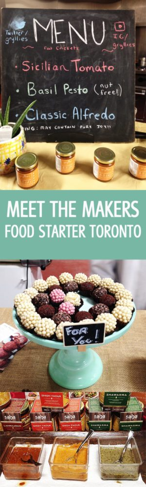 Meet the Makers at the Food Starter - Meet the makers at the Food Starter in Toronto, Ontario. New future entrepreneurs create a delicious food. The process from food production to shelves! by ilonaspassion.com I @ilonaspassion