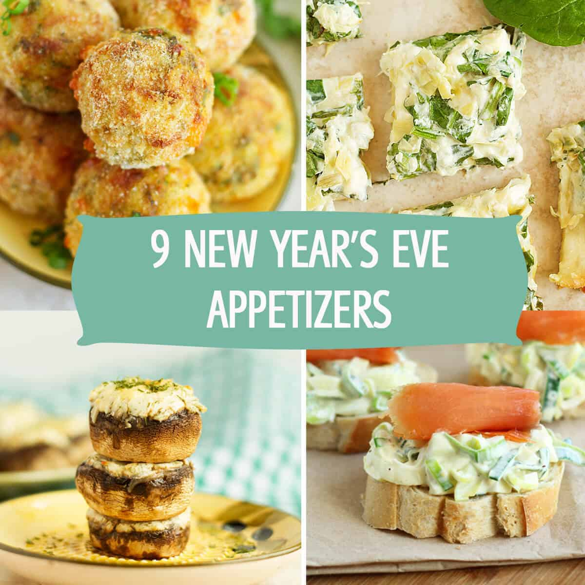 20 Of The Best New Year's Eve Appetizers! With December 31st just around the corner, it's time to start planning your New Year's Eve! The best New Year's Eve appetizers are easy to make, taste amazing and take little to no effort to get onto your table!