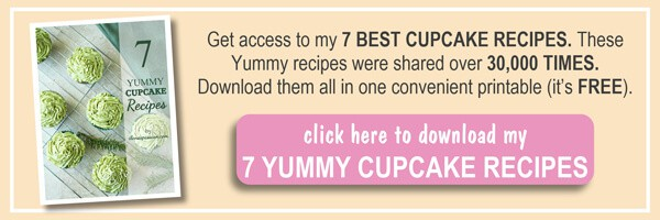 7 Best Cupcake Recipes Ebook by ilonaspassion.com I @ilonaspassion