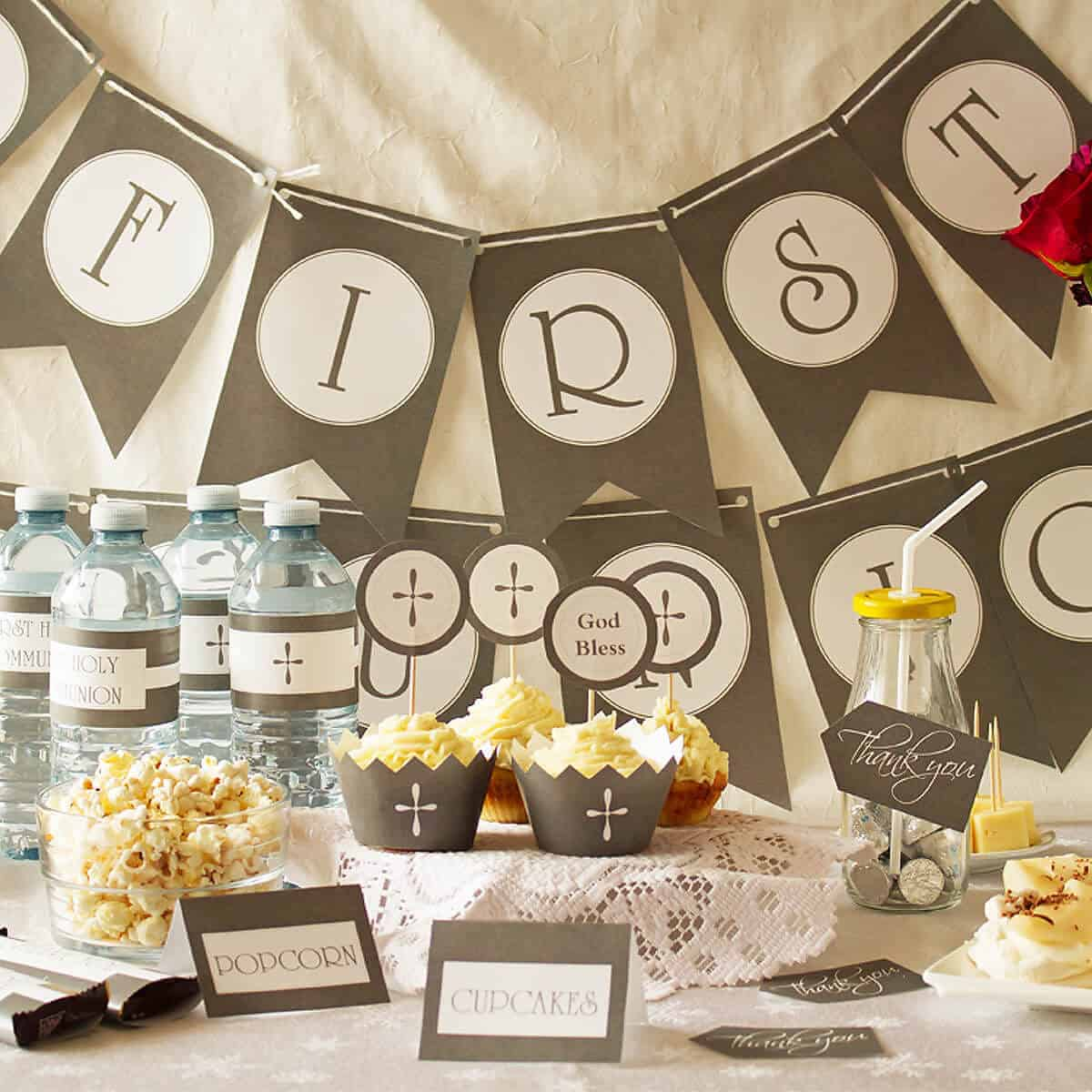 First Communion Party Ideas Ilona S Passion