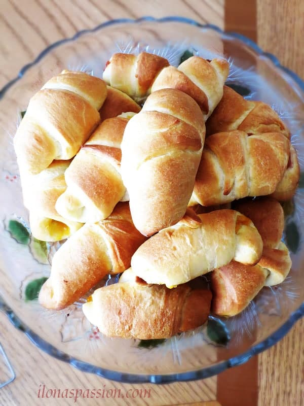 Buttermilk Crescent rolls recipe