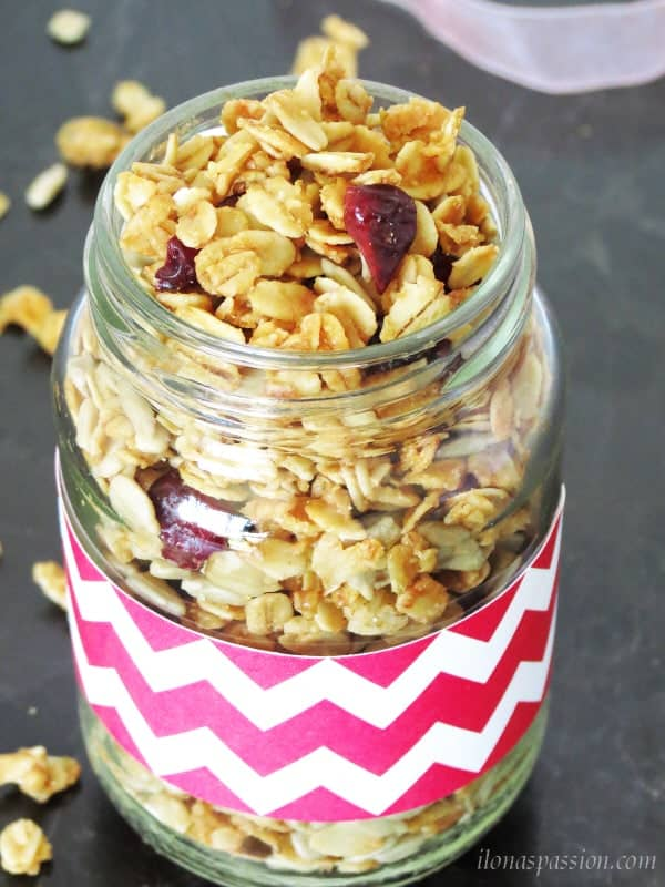 Maple Sunflower Seeds Granola1