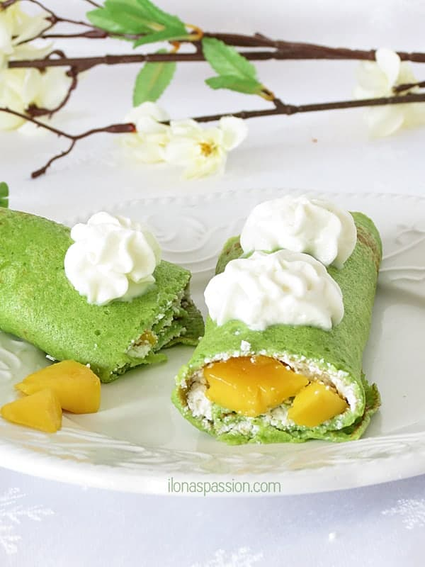 Kid Approved Crepes with Mango and Secret Ingredient by ilonaspassion.com