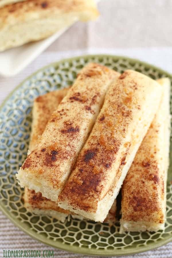 Fluffy and Buttery Brown Sugar Cinnamon Breadstick by ilonaspassion.com