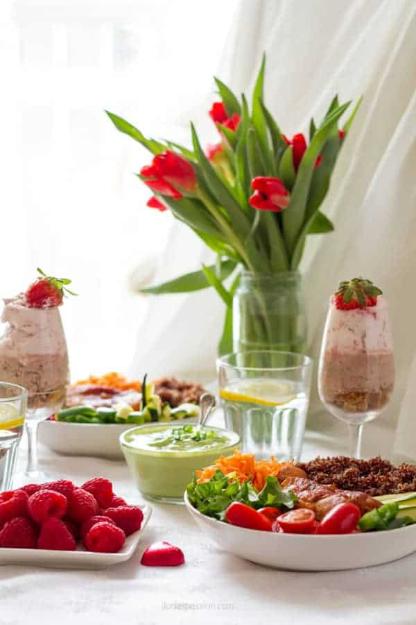 How to prepare elegenat dinner party menu on a budget with fresh products by ilonaspassion.com I @ilonaspassion