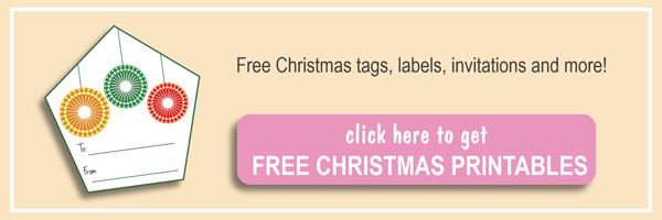 Free Christmas labels, tags that you can print by yourself by ilonaspassion.com