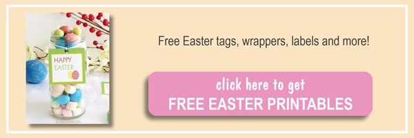 Easter printable tags, chocolate wrappers by ilonaspassion.com