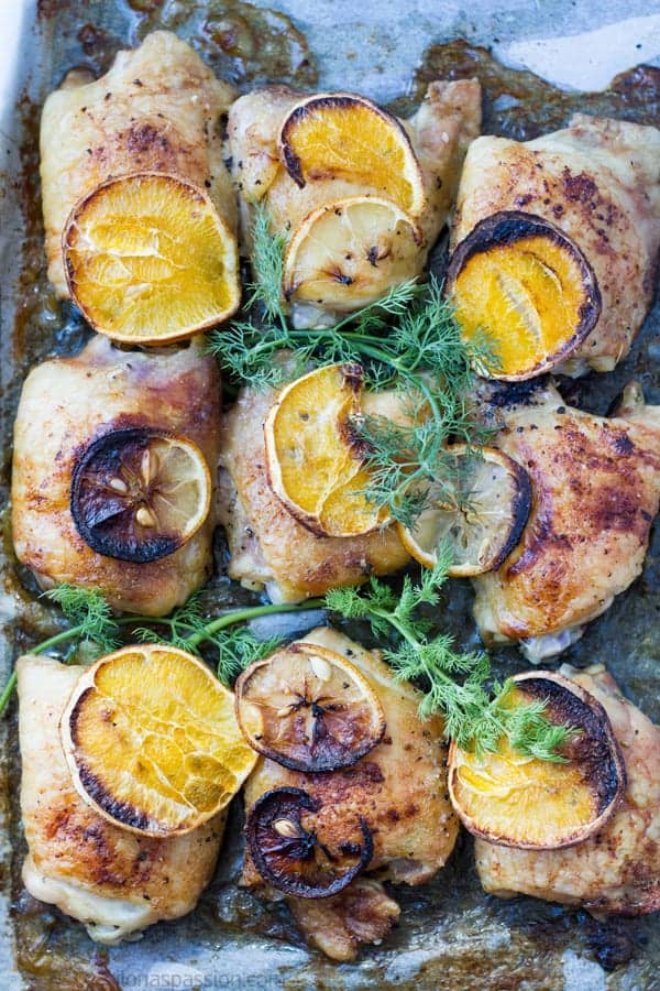 Citrus marinated chicken legs recipe are not fried by ilonaspassion.com I @ilonaspassion